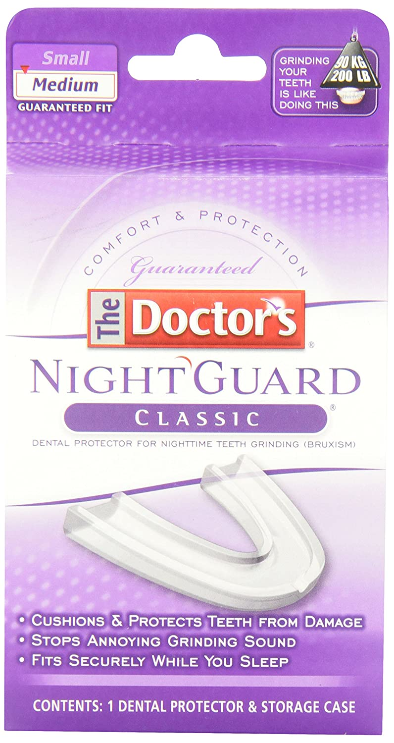 The Doctor's NightGuard Advanced Comfort Dental Protector, Medium The Doctor' s NightGuard 042037799120