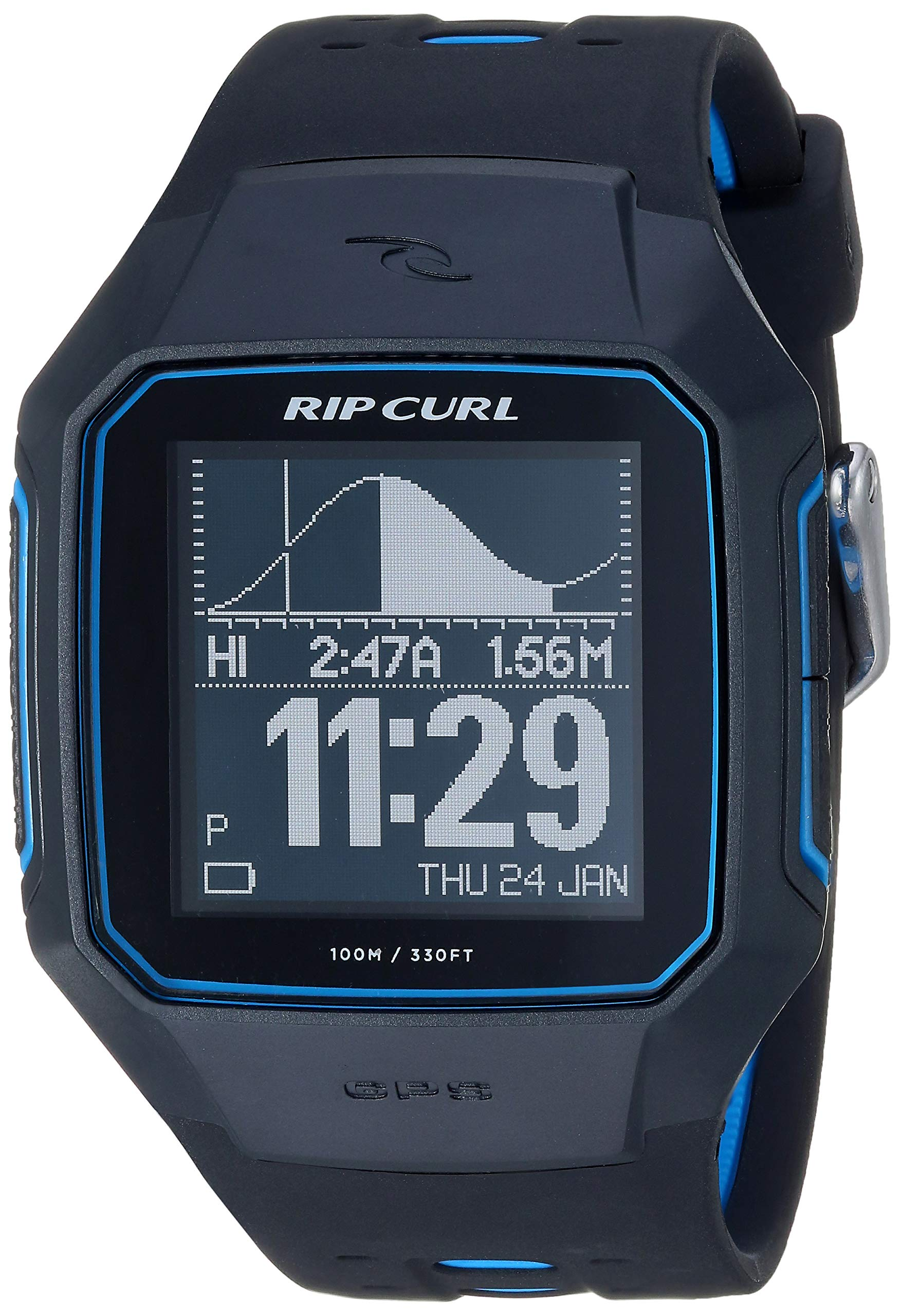 Rip Curl Men's A1144-BLU SearchGPS Digital Display Quartz Blue Watch by Rip Curl
