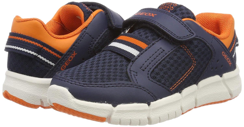 Geox J Flexyper Boy B, Sneakers Basses garçon: