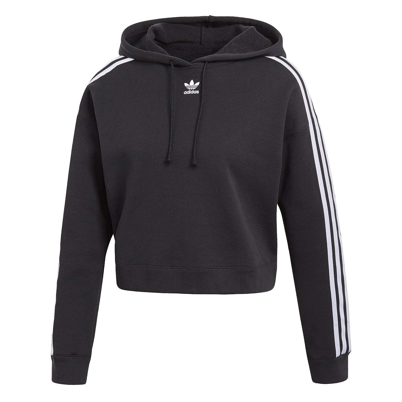 616094b7ca7 adidas Originals Women's Cropped Hoodie at Amazon Women's Clothing store: