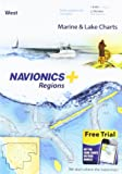 Navionics Plus Regions West Marine and Lake Charts on SD/MSD