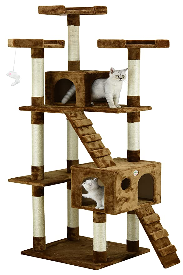 3. Go Pet Club Cat Tree Furniture - Best Simple Structure