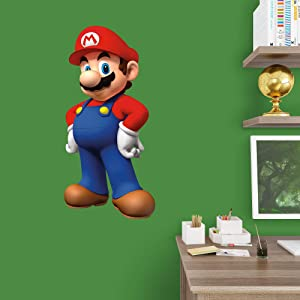 FATHEAD Mario-X-Large Officially Licensed Nintendo Removable Wall Decal