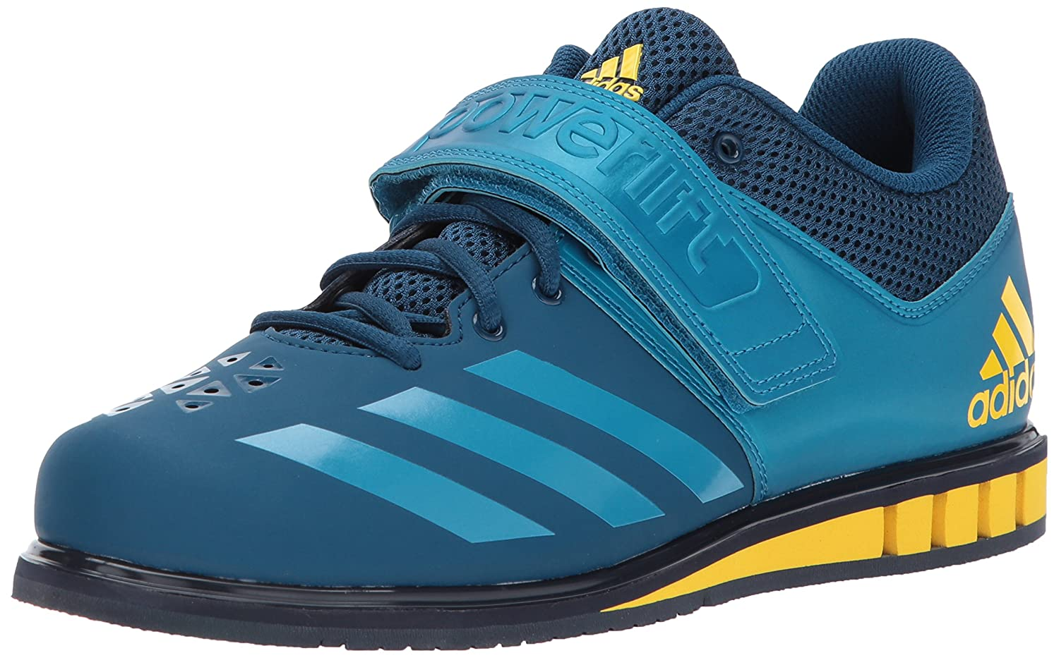 bluee Night Mystery Petrol Legend Ink adidas Powerlift.3.1 shoes Men's Weightlifting