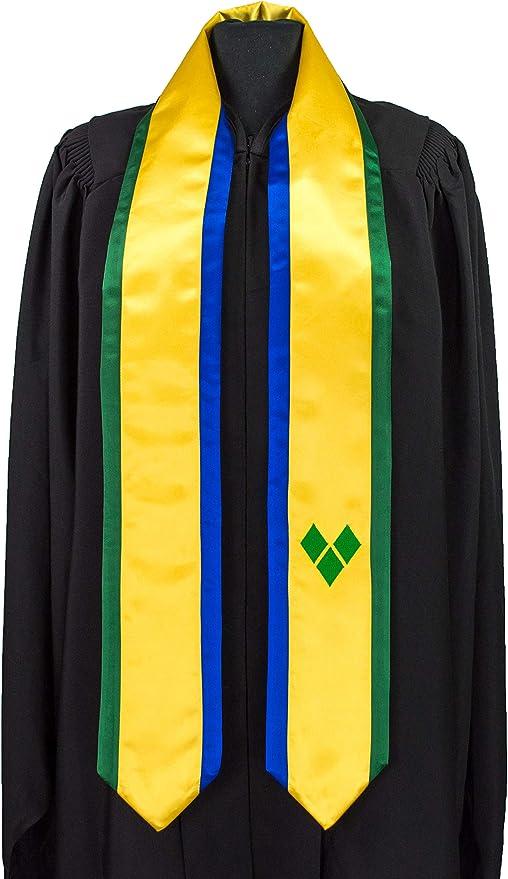 Stole Graduation Sash St Vincent and the Grenadines Flag