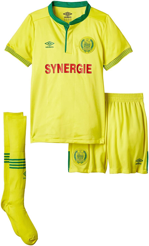 Umbro FC Nantes - Camiseta para niño, Niños, Fc Nantes Kit, amarillo: Amazon.es: Deportes y aire libre