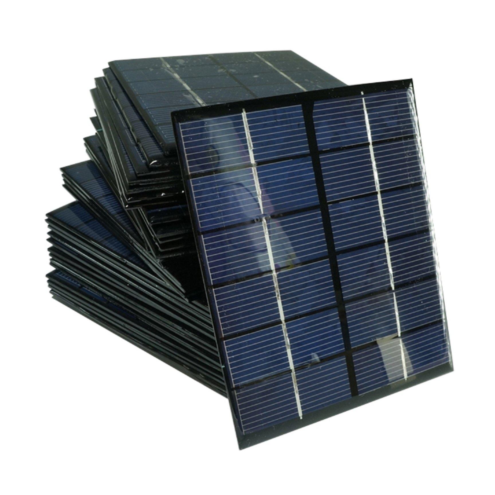 Mini Solar System Panel Module 1pc 2w 6v 333ma High