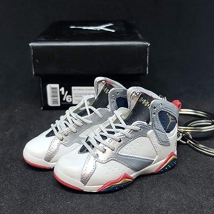 Amazon.com: Pair Air Jordan VII 7 Retro Olympic Dream Team ...