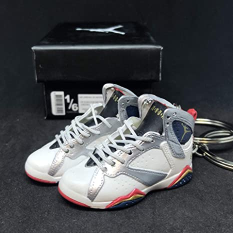 7e46c798770ce7 Image Unavailable. Image not available for. Color  Pair Air Jordan VII 7  Retro Olympic Dream Team ...