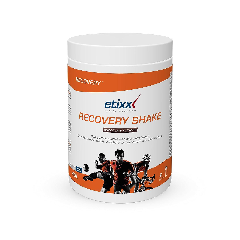 Etixx Recovery Shake con Sabor a Chocolate - 400 gr: Amazon.es: Salud y cuidado personal
