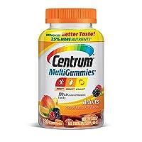Centrum MultiGummies Gummy Multivitamin for Adults, Multivitamin/Multimineral Supplement...