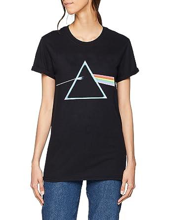 d643bb51 Pink Floyd Women's Dark Side Prism T-Shirt: Amazon.co.uk: Clothing