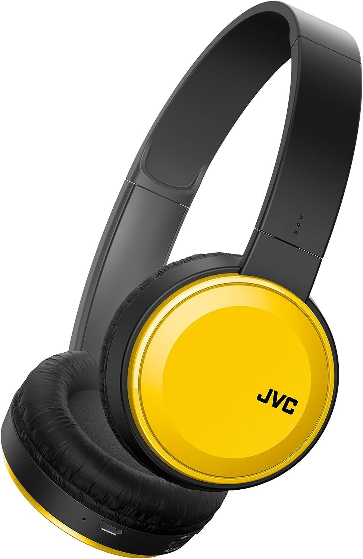 JVC Auriculares HA-S30BT-Y-E, Bluetooth, Plegables, Amarillo, Talla Única: Jvc: Amazon.es: Electrónica