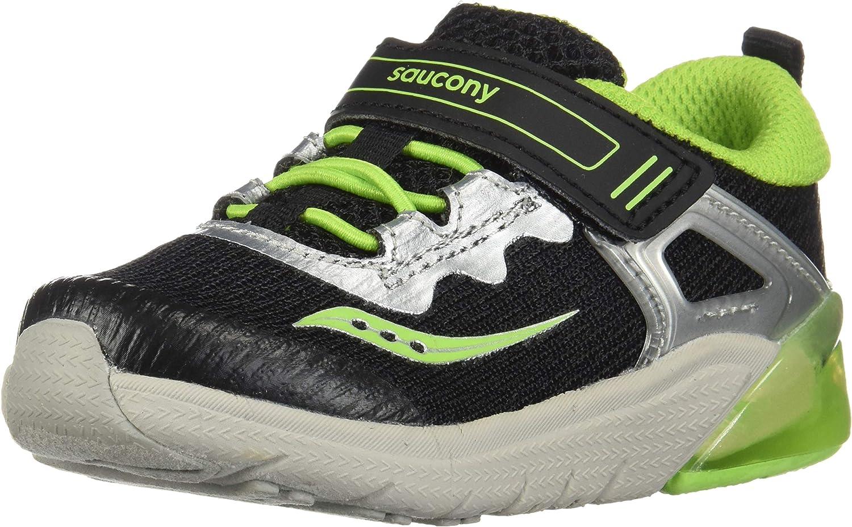 Saucony Boys' S-Flash Glow JR Sneakers