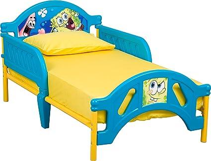 Amazon.com: Nickelodeon Bob Esponja Cama Infantil: Toys & Games