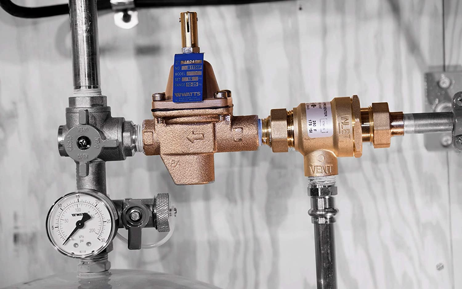 B911S-M3 Watts Premier Automatic Fill Valve for Hot Water Boiler