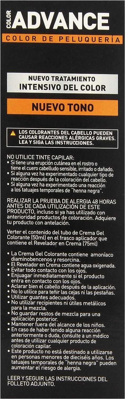 Llongueras Advance Tinte de Cabello Permanente Tono #4.15 Chocolate Helado