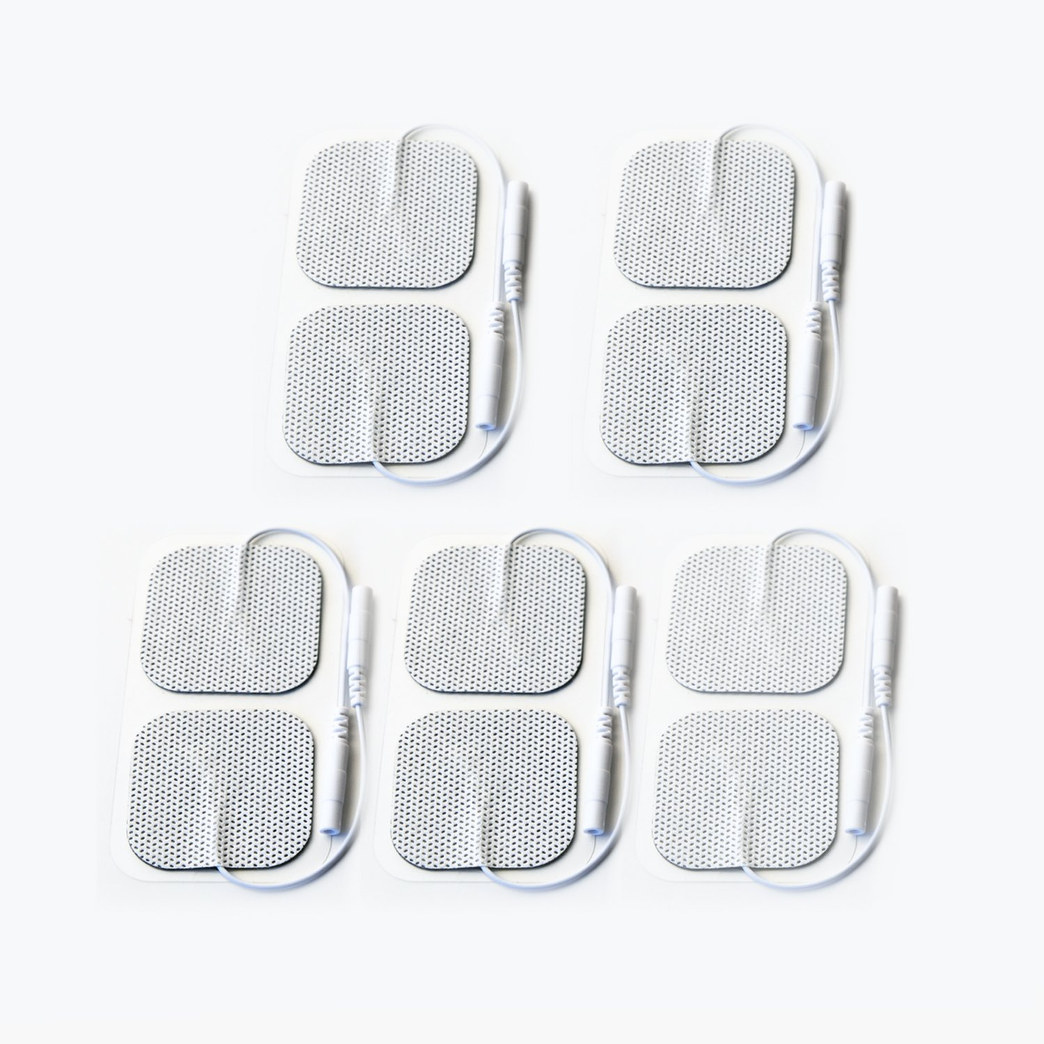 ChoiceMMed Self-adhesive Replacement Gel Pads for Electronic Pulse Stimulators (pack of 10 pads)