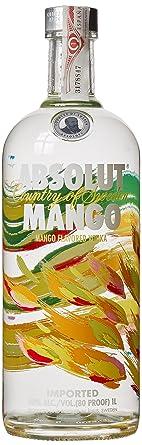 absolut mango vodka 1 litre amazon co uk grocery