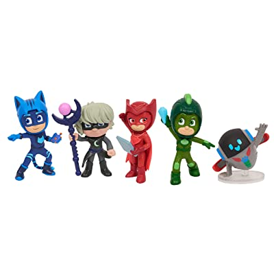 PJ Masks Super Moon Adventure Collectible Figures - 5 Pack: Toys & Games