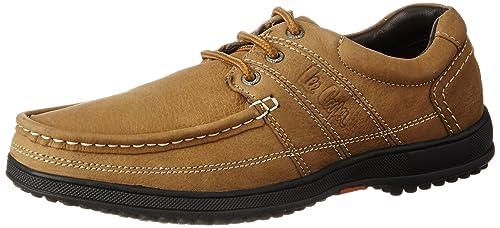 Buy Lee Cooper Men's Camel Boot Shoes