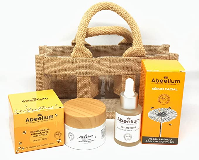 Abeelium - Pack Bee Green | Sérum Hidratante Facial y Crema Facial Hidrante y Nutritiva - Producto Natural y Ecológico: Amazon.es: Belleza