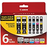 Canon PGI-225/CLI-226 Ink Cartrigdes (Black/Color) in Retail Packaging