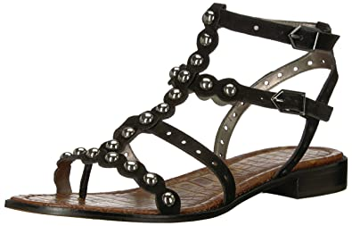 c8a962f93 Amazon.com  Sam Edelman Women s Elisa Flat Sandal  Shoes