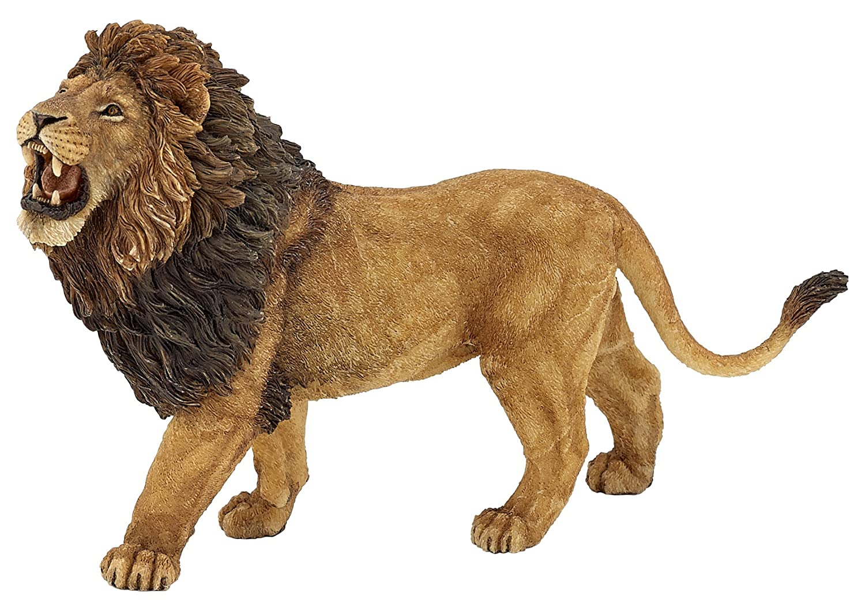 amazon com papo wild animal kingdom figure roaring lion toys games