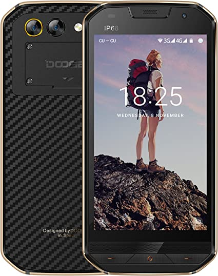Smartphone Libre, DOOGEE S30 Moviles Libres, 4G Android 7.0 ...