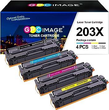 Gpc Image Kompatible 203x Toner Als Ersatz Für Hp 203x Cf540x 203a Cf540a Für Hp Color