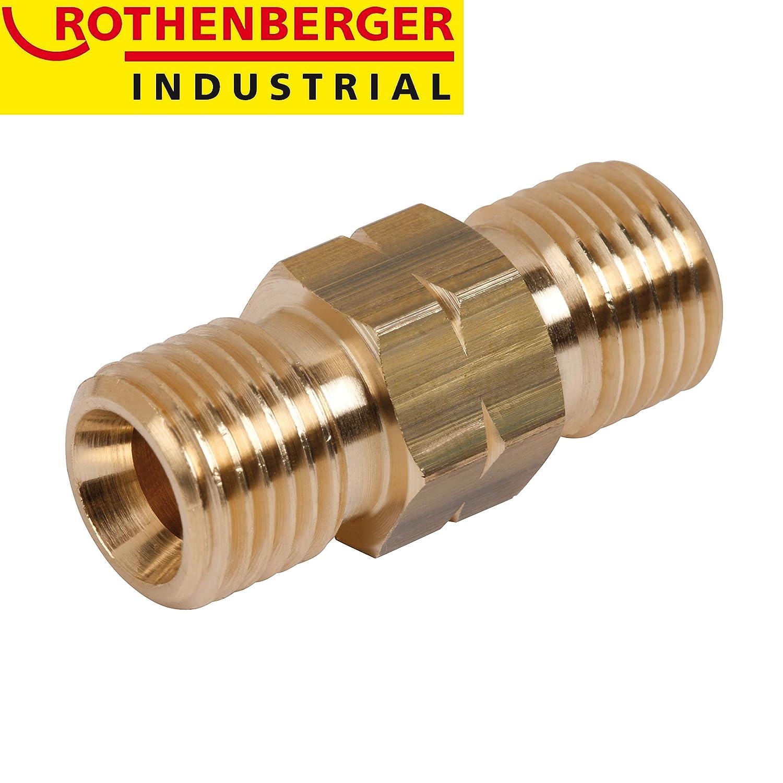 "2x G 1//4/"" L Rothenberger Industrial Doppelnippel"