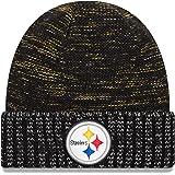 New Era Pittsburgh Steelers Knit Beanie Cap Hat NFL 2017 Color Rush  11461025 Black 1ae708349186
