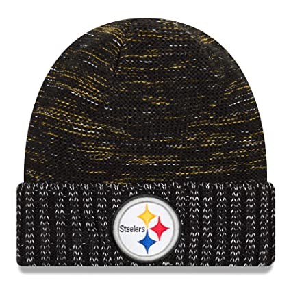 New Era Pittsburgh Steelers Knit Beanie Cap Hat Nfl 2017 Color Rush 11461025