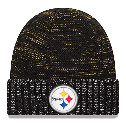 Image Unavailable. Image not available for. Color  New Era Pittsburgh  Steelers Knit Beanie Cap Hat NFL 2017 Color Rush 11461025 Black 30e31f95c8c8
