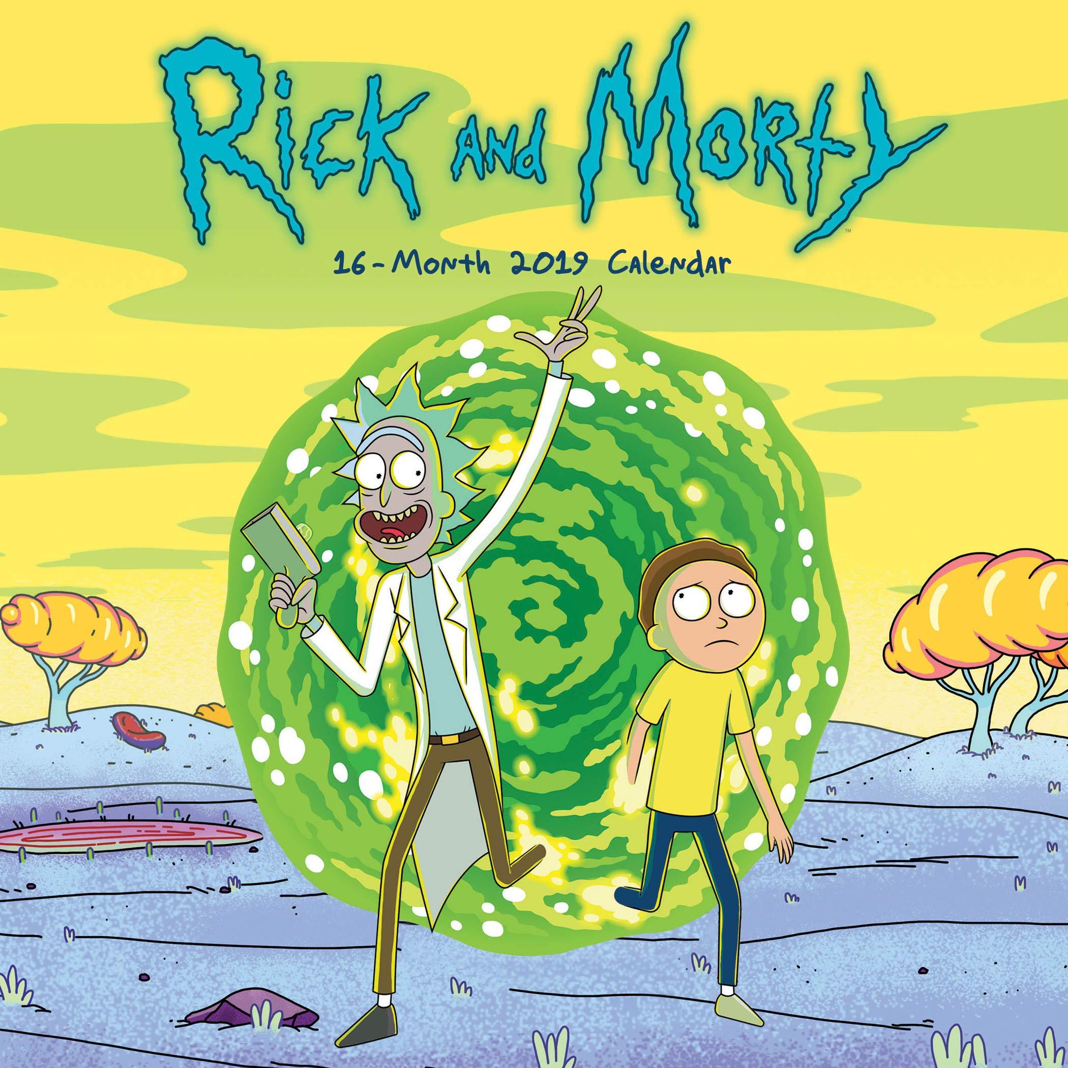 Calendario Coop 2020.2019 Rick And Morty Mini Calendar Trends International