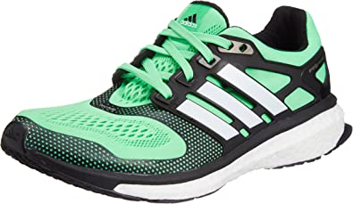 adidas Zapatillas Energy Boost Verde/Negro EU 41 1/3 (UK 7.5): Amazon.es: Zapatos y complementos