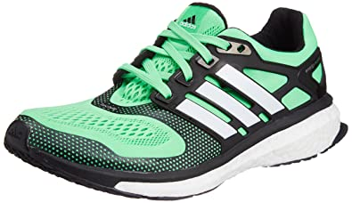 cheaper 40bb8 9a305 adidas Performance ENERGY BOOST ESM Green Black Men Running Shoes Torsion  System
