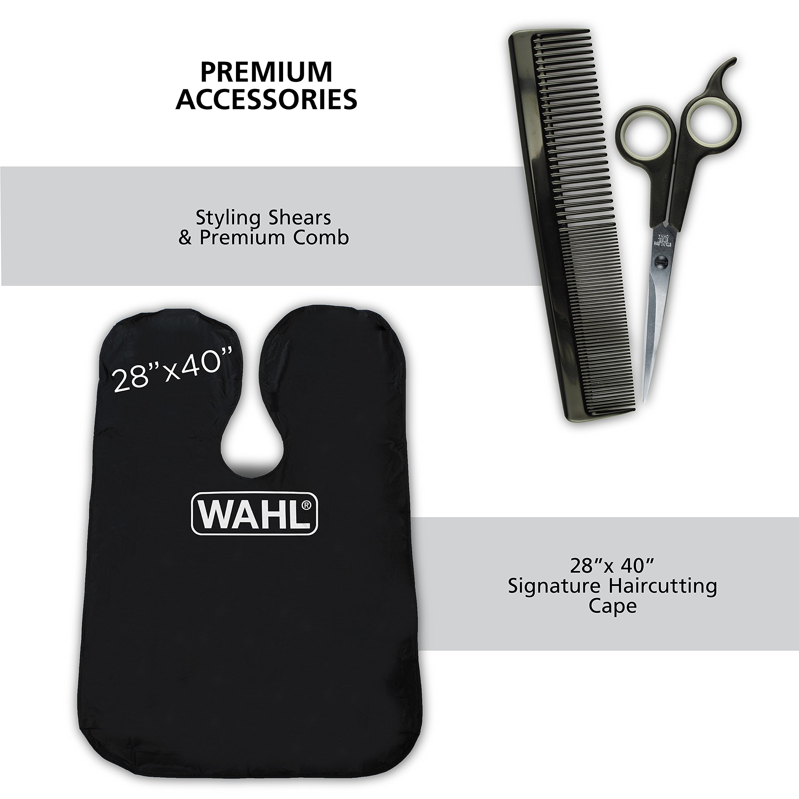 wahl clipper elite pro high performance haircut kit for