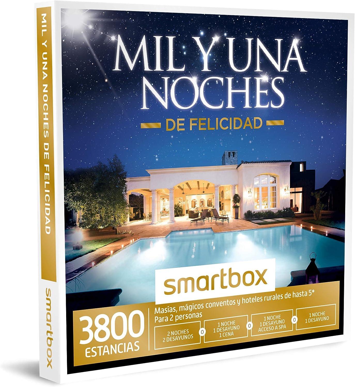 Smartbox - Caja Regalo -MIL Y UNA Noches DE Felicidad - 1545 masías, conventos y hoteles Rurales de hasta 5* en España, Andorra, Portugal, Italia, Bélgica y Francia