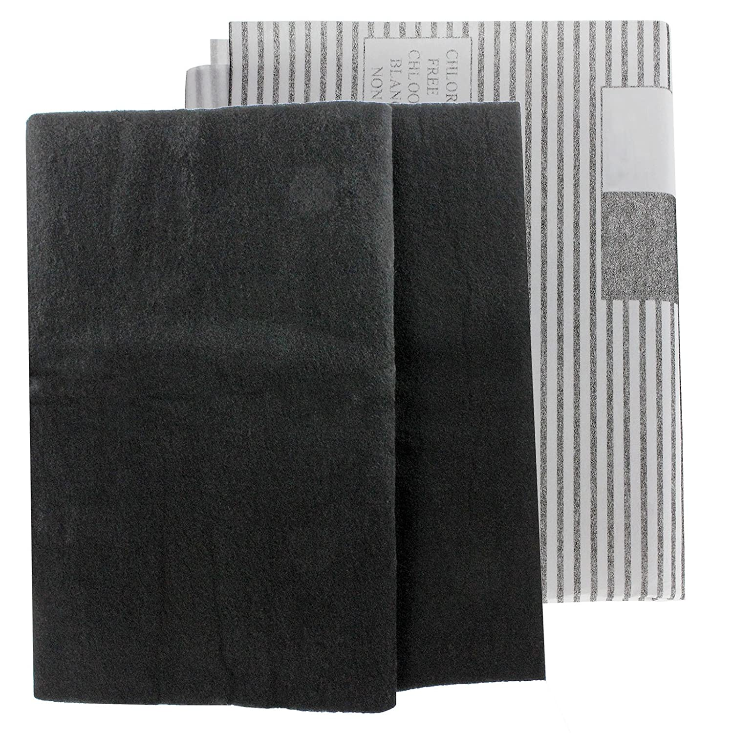 SPARES2GO Large Cooker Hood Grease Filters for Blanco Vent Extractor Fans (2 x Filter, Cut to Size - 100 cm x 47 cm)