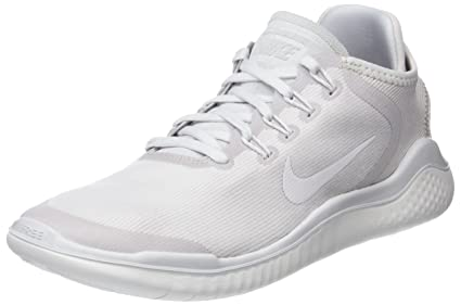 ece3e7b869124 Nike Womens Free Rn 2018 Sun Low Top Lace Up Running Sneaker, Grey, Size 7.5