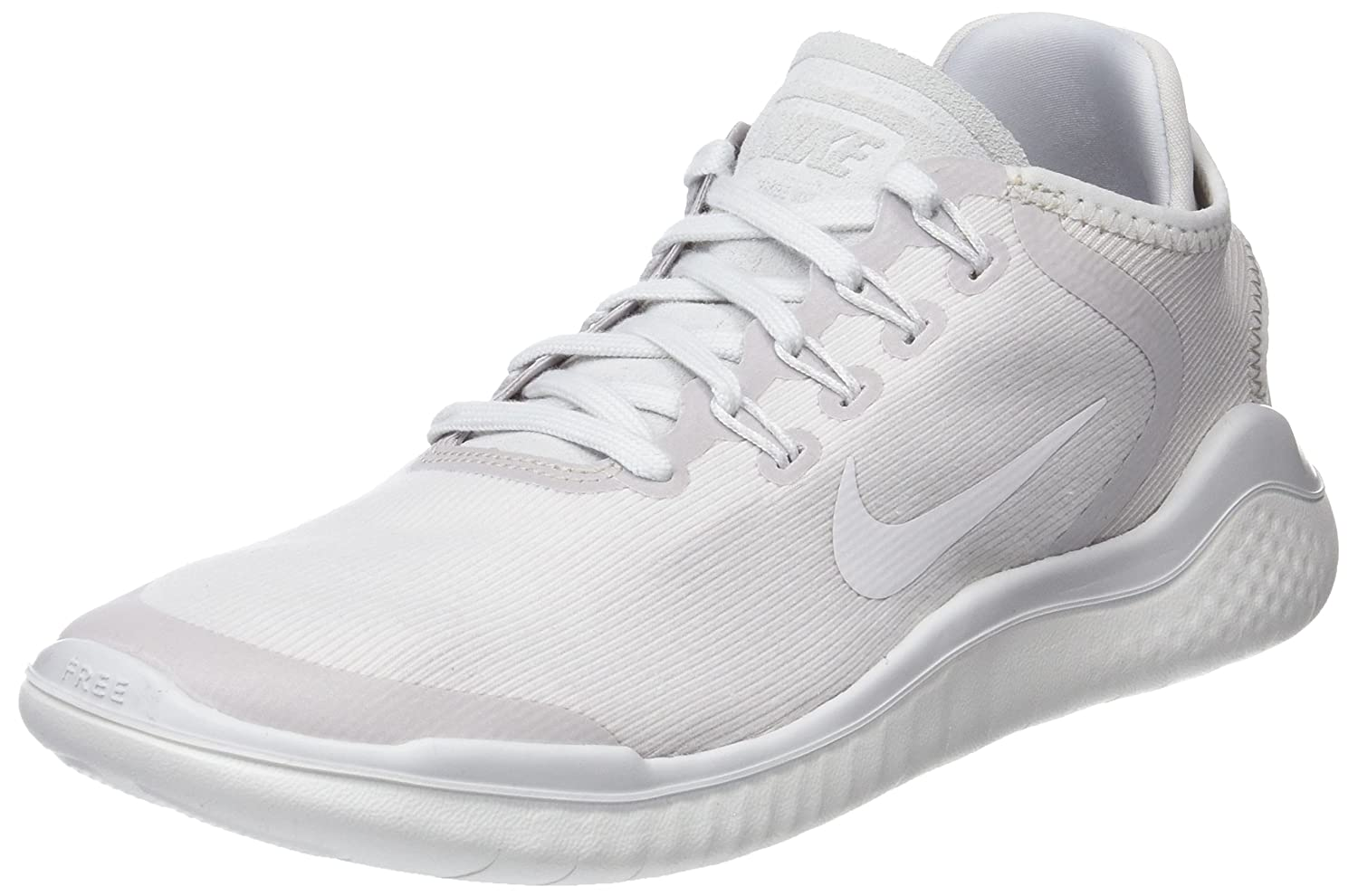 check out 53c07 93092 Nike Womens Free Rn 2018 Sun Low Top Lace Up Running Sneaker
