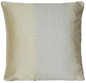 couvre lit pierre frey Or Paisley Housse de coussin soie oreiller décoratif Couvre lit  couvre lit pierre frey