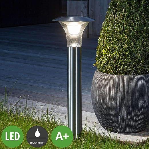 LED Lámparas solares Jolin (Moderno) en Gris hecho de Acero (1 ...