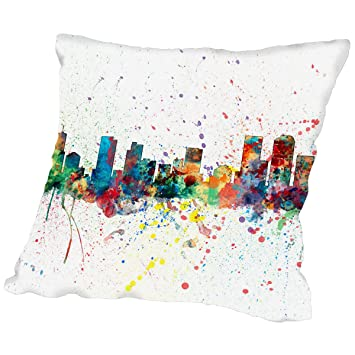 Amazon.com: American Flat Denver Colorado Skyline New 6\
