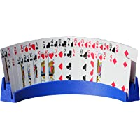 """Twin Tier Premier Playing Card Holder (Set of 2) - Holds Up to 32 Playing Cards Easily - 12 1/2"""" x 4 1/2"""" x 2 1/4…"""