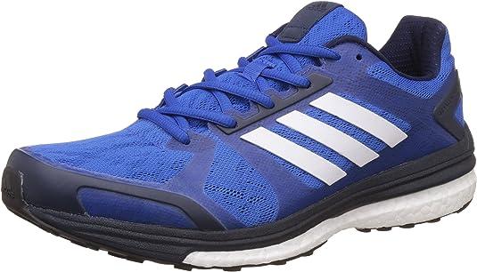 adidas BB1612, Zapatillas de Running Hombre, Azul (Azul/ftwbla/maruni), 48 EU: Amazon.es: Zapatos y complementos