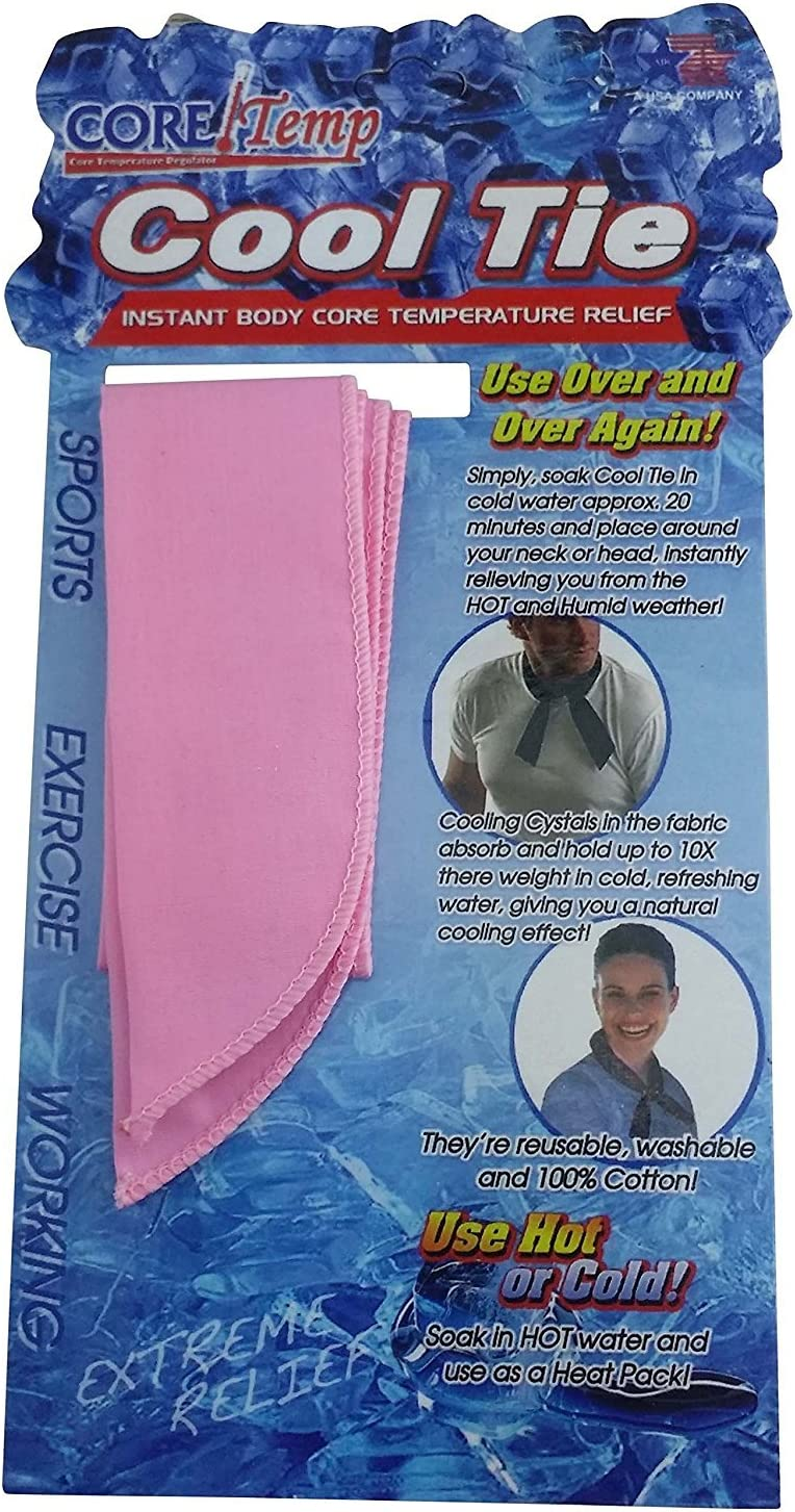 Core Temp The Original Cooling Scarf/Headband/Neck Wrap for Extreme Heat Relief