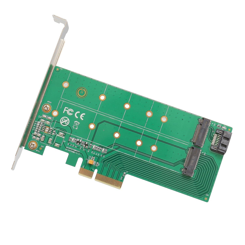Computer & Büro Treu Pci Express Pci-e 4x Ngff M.2 Zu Nvme B Schlüssel M2 Ngff M Schlüssel Ssd Slot Adapter Karte Dual Port Adapter Karte Kit